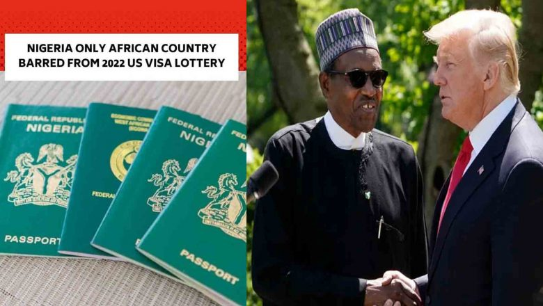 Nigeria Barred From 2022 US Visa Lottery