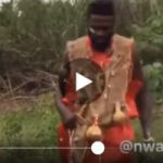 Native Doctor Caught Making Love To Another Man's Wife In The Bush (Trending Video)