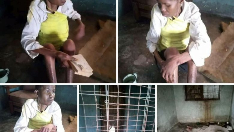 Husband Accuses Wife Of Witchcraft, Locked Her Up In Cage For Three Years