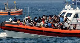 45 Migrants Rescued After Improvised Boat Found Itself 'In Trouble'