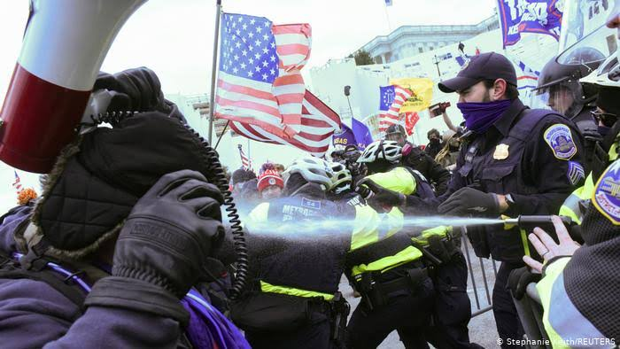 Police Evacuate US Congress Offices Amid Clashes With Pro-Trump Protesters