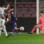 Messi Scores Twice As Barcelona Dispatch Elche