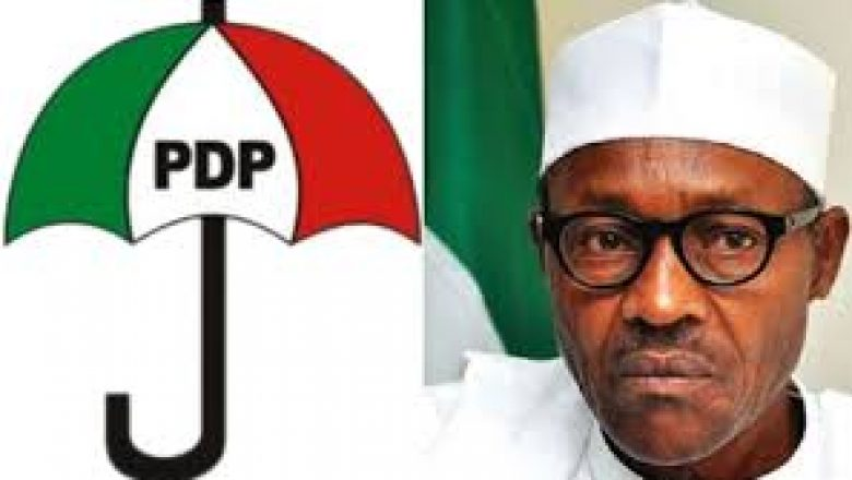 PDP Asks Buhari To Convoke A National Conference On Security Without Dela