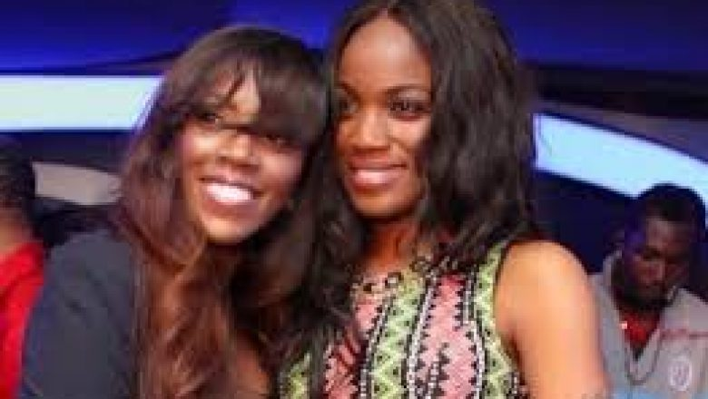 Seyi Shay and Tiwa Savage fight dirty at a saloon in lagos