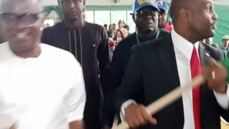 Obiora Agbasimelo Emerges winner of Labour party primary elections (Video)