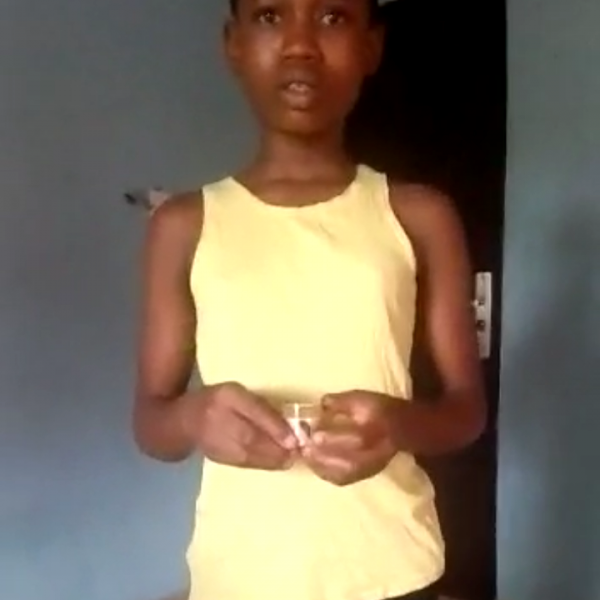 (Video) Woman narrates how housemaid mixed urine with the food she serves to her family