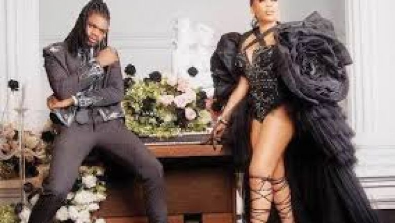 This too shall pass away- Toyin Lawal consoles Tiwa Savage over father's death